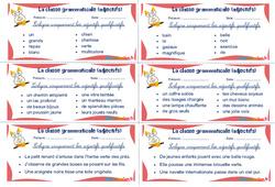 Les adjectifs qualificatifs - Ce1 - Ce2 - Rituels - La classe grammaticale