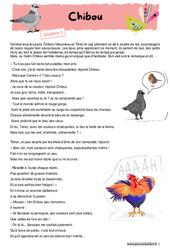 Chibou - CE2 - CM1 - Fable - Récit - Lecture