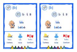 Le son [b] - CP - CE1 - Cycle 2 - Affiche