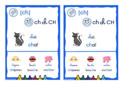 Le son [ch] - CP - CE1 - Cycle 2 - Affiche
