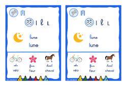 Le son [l] – CP – CE1 – Cycle 2 - Affiche