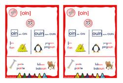 Le son [oin] - Cycle 2 - CP - CE1 - Affiche