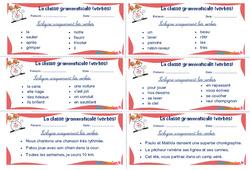 Les verbes - Ce1 - Ce2 - Rituels - La classe grammaticale