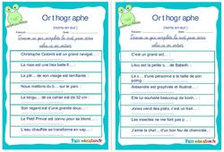 Les noms en eur - Ce1 - Ce2 - Rituels - Orthographe