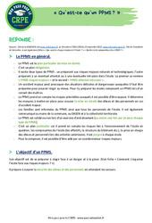Qu'est-ce qu'un plan particulier de mise en sûreté (PPMS)? – CRPE2022
