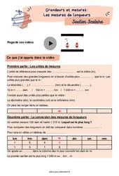 Les mesures de longueurs - CM1 - Soutien scolaire pour les élèves en difficulté.