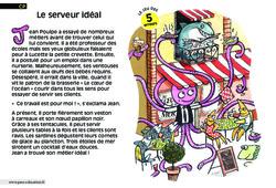Le serveur idéal - Cp - Lecture - Compréhension fine - Inférences