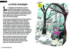 La forêt enneigée - Ce1 - Lecture - Compréhension fine - Inférences