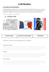 IIIe République – La république 1815 – 1870  – XIX ème siècle – Cm2 –  Cycle3: Exercice