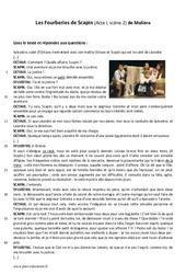 Les Fourberies de Scapin - 5ème - Lecture - Théâtre