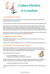 Traditions de la Chandeleur - Cm1 - Cm2 - Lecture - Texte informatif - Documentaire- Cycle 3