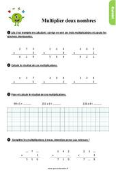 Exercices, révisions sur multiplier deux nombres au Ce1 avec les corrections