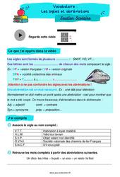 Les sigles et abréviations - Cm1 - Soutien scolaire pour les élèves en difficulté.