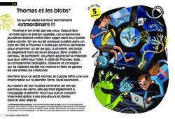Thomas et les blobs - Cp - Lecture - Compréhension fine - Inférences