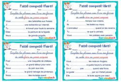 Passé composé (faire et dire) - Ce1 - Ce2 - Rituels - Conjugaison