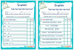 Graphies (ain-ian-ein-ien-oin-ion) - Ce1 - Ce2 - Rituels - Phonologie