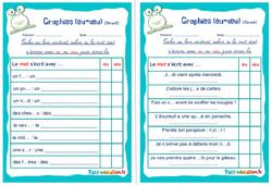 Graphies (eu-œu) - Ce1 - Ce2 - Rituels - Phonologie