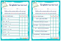 Graphies (ian-ien-ion) - Ce1 - Ce2 - Rituels - Phonologie