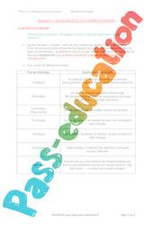 Les sources et les formes d'énergies - 5ème - Séquence complète
