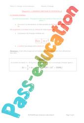 L'énergie cinétique et potentielle - 3ème - Séquence complète