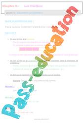 Situations problèmes - 6ème - Séquence complète - Les fractions