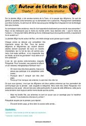 Autour de l'étoile Ran – Cm1 – Cm2 – Récit – Lecture