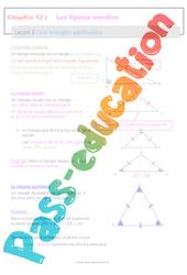 Les triangles particuliers - 6ème - Séquence complète sur les figures usuelles