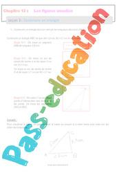 Construire un triangle - 6ème - Séquence complète sur les figures usuelles