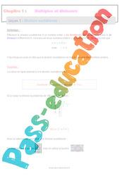 Division euclidienne - 4ème - Multiples et diviseurs - Séquence complète