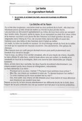 Les organisateurs textuels – Cm2 – Ecriture –  Récit – Cycle 3
