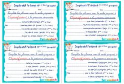 Impératif Présent (1er et 2ème groupes) - Cm1 - Cm2 - Rituels - Conjugaison