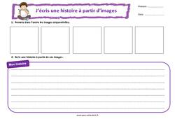 Le cerf-volant - Ce2 - Cm1 - Images séquentielles - Production d'écrit - Rédaction