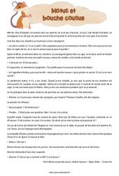 Motus et bouche cousue – Cm2 – Récit – Lecture