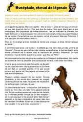 Bucéphale, cheval de légende – Cm1 – Cm2 – Récit – Lecture