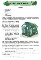 Les végétaux étranges - Ce2 - Cm1 - Lecture thématique