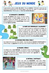 Les jeux du monde - CE1 - CE2 - Lecture thématique