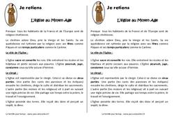 Eglise au Moyen Age - Cm1 - Leçon