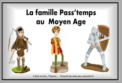 Moyen Âge – Cm1 – Diaporama, frise, généalogie…