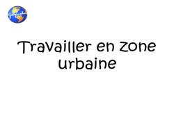 Travailler en zone urbaine - Cm1 - Exercices