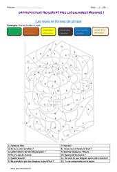 Types et formes de phrase - Cm1 - Coloriage magique