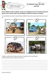 Se déplacer dans des villes pauvres – Cm2 – Exercices