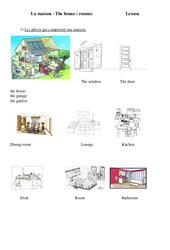 The house (furniture) – Ce2 – Cm1 – Cm2 – Leçon – Anglais – Cycle 3