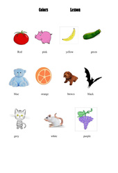 Les couleurs – Colors – Ce2 – Cm1 – Cm2 – Leçon – Anglais – Cycle 3
