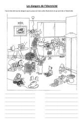 Les dangers de l'électricité  - Leçon - Ce2 Cm1 cm2 - Sciences - Cycle 3
