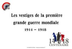 1ère guerre mondiale – Vestiges du passé – Cm2 – Images