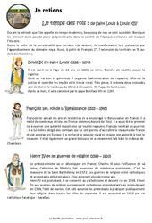 Temps des rois – Cm1 – Leçon