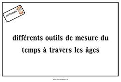 Outils de mesure du temps – CP – Diaporama
