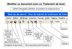 Traitement de texte – Informatique Ce2 – Cm1 – Cm2 – Cycle 3