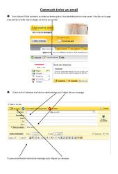 Comment écrire un email - Informatique – Ce2 – cm1 – cm2 – Sciences – Cycle 3