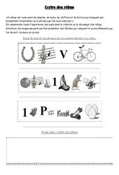 Rébus – Cm1 – Cm2 – Ecriture poétique – Cycle 3